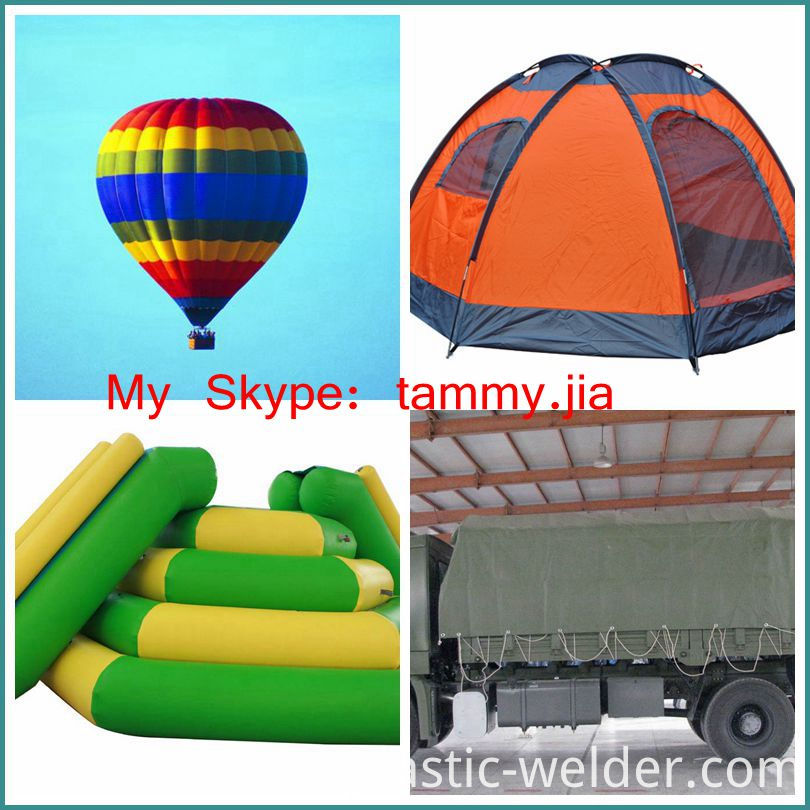 Tent, Truck cover welding machine