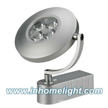 Round 4W high power led track light