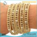 Новый браслет богемского золота ювелирных изделий прибытия богемский обруч вокруг браслета кристалла шарика