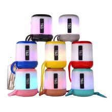 TG156  Support USB TF CARD FM RADIO With LED Light Speaker Enclosure Speaker