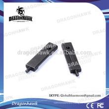 "1.65"" Black Iron Armature Tattoo Steel Tattoo Armature Bar"