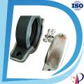 Braçadeira sulcada rápida de aço inoxidável do eixo do gerador do acoplamento de tubulação