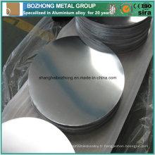 6063 Cercle en aluminium bon prix pour ustensiles de cuisine