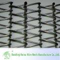 Нержавеющая сталь Плоская проволочная лента для конвейера