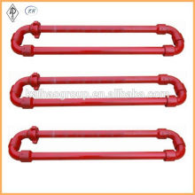 API 6A High Pressure Hose Loop / Short and Long Radius Flexible Manifold / integral type flexible manifold
