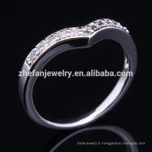 Bijoux professionnels usine poids léger Top qualité bijoux 1 Dollar Ring