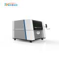 Haute précision de découpeuse de laser de fibre en métal 1390