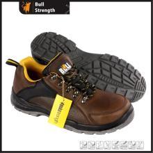 Molde PU/PU Outsole couro genuíno baixa segurança sapato novo (SN5499)