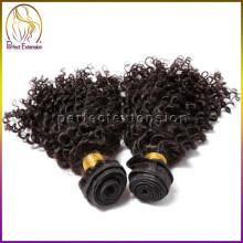 l'expédition de Chine 1 b cheveux humains normaux mongole crépus cheveux raides d'armure