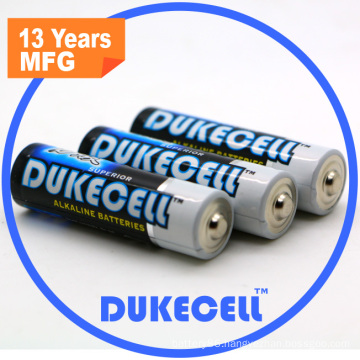 Popular Battery with AA Size Lr6 Battery 1.5voltage