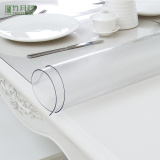 China Made Professional Wedding Anti-hot Dining Super Clear PVC Film 1mm for Table Cloth
