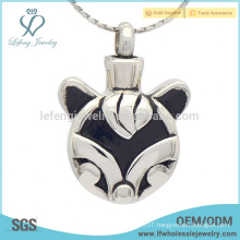 Cute silver pet cremation pendants,pet cremation ashes pendant jewelry keepsakes