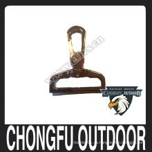 Gancho de acero inoxidable para el lazo y el collar del dios del animal doméstico