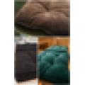 customized soft corduroy seat/floor/chair cushion