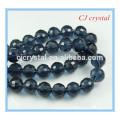 96 perles rondes facettes, cordon de perles, perle de peinture de 8 mm