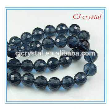 96 facets round beads, bead strand, 8mm paint bead
