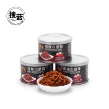 deliciosa salsa china instantánea de hongos