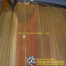 Cortina de ducha de la cortina de la malla metálica de aluminio