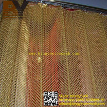 Aluminum Metal Mesh Drapery Shower Curtain