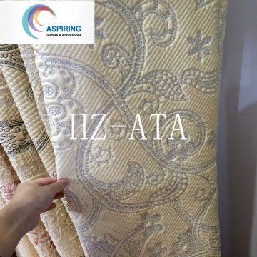 Tissu en maille jacquard en polyester pour matelas