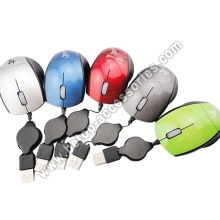 Colorful Wired Mouse