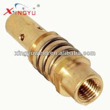 Portador de la punta de contacto de Binzel 15ak en venta / piezas de la máquina de soldadura