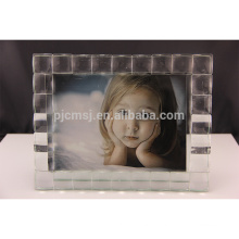 Eco-friendly reclaimed material crystal decoration photo frame ornament