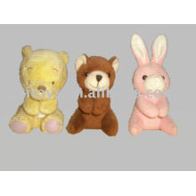 mini clip de oso de juguete, juguete de animal para niños