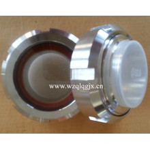 Acier inoxydable SMS Union Sight Glass for Food Processing