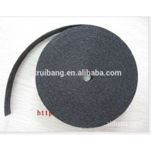 Herstellung Filtermaterial feuerbeständiges Kohlefasergewebe