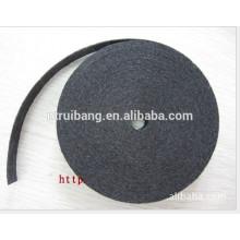 fabrication de matériau filtrant tissu ignifuge en fibre de carbone