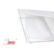Placas de plástico transparente transparente de policarbonato