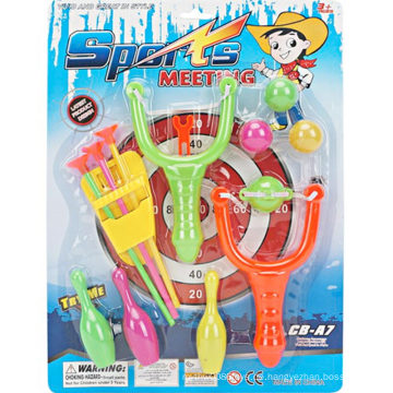 Plastik Slingshot schießen Sport Spielzeug Pistole