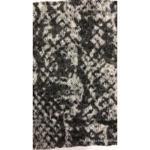 Coarse Nneedle Yarn Dyed Knitted Fabric