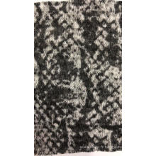 Tissu tricoté grossièrement teint en fil Nneedle