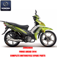 Zongshen FORGE AHEAD 2014 Complete motorbody kit Onderdelen Originele reserveonderdelen