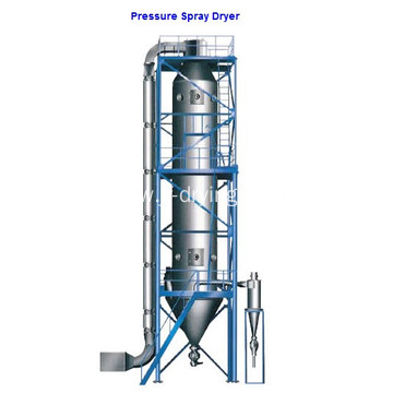 Pressure spray dryer/drying granulator