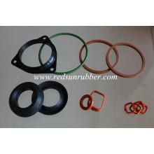 Kundenspezifischer geformter Silikonkautschuk-Dichtungs-Ring