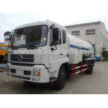 Dongfeng tianjin 4x2 sewage pump truck with cleanout tank
