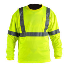 Workwear Security Shirt with Reflective Tape