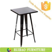 Kommerzielle Möbel Metall Stuhl und Tisch