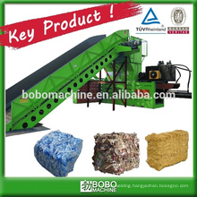 Hydraulic horizontal used cardboard baler machine