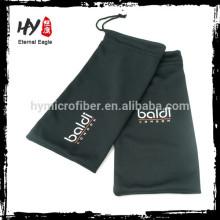 China Fornecedor novo estilo de moda de alta qualidade bolsa de óculos de neoprene / custom microfibra de seda eyewear saco de cordão