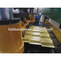Hojas de azulejos de perfil de aluminio hidráulico Máquina de conformado en frío, panel de teja de techo que forma la máquina