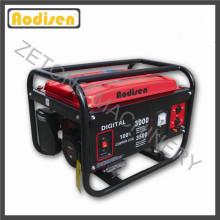 Generador de gasolina portátil 2kw 5kw 7kw con bajo nivel de ruido