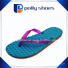 Neue Frauen Flip Flop Sport Sandalen Blue Orange Lila
