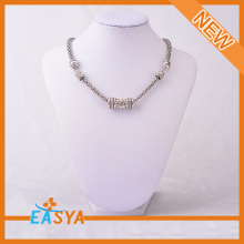 Plain And Simple Necklace Simple Structure Of Necklace Plain Round Necklace