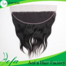 Frontales brasilianisches gerades Haar, Jungfrau Remy-Menschenhaar-Spitze-Perücke
