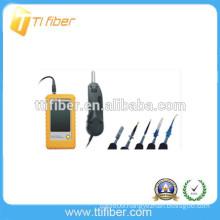 Handheld fiber optic inspection microscope