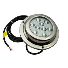 9X3 27W en acier inoxydable 316 imperméable à LED lampe de bateau sous-marine